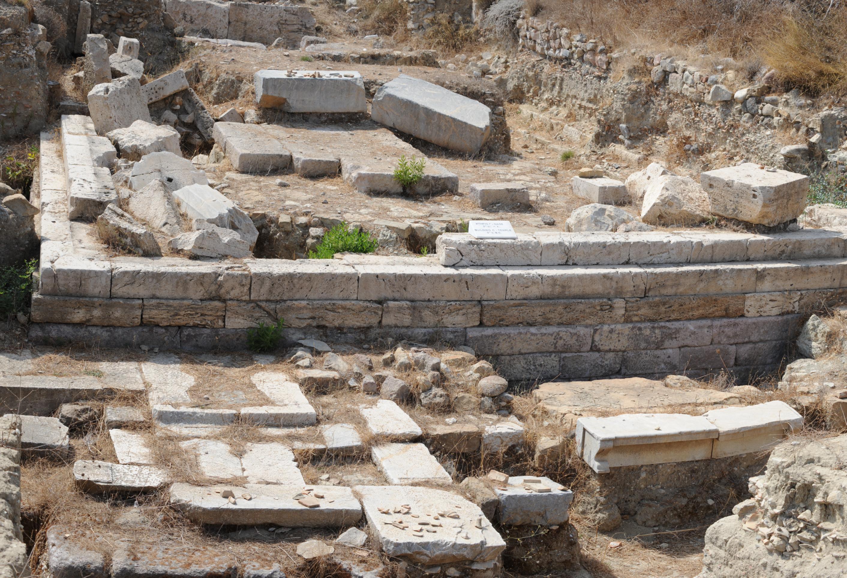 Ruins in Kardamena