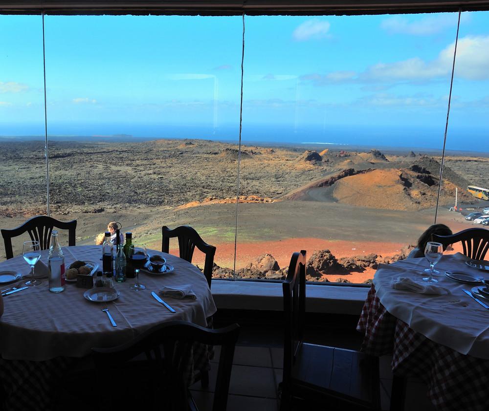 El Diablo Restaurant Lanzarote