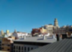 Where to stay in Valencia - Vincci Mercat view from roof terrace