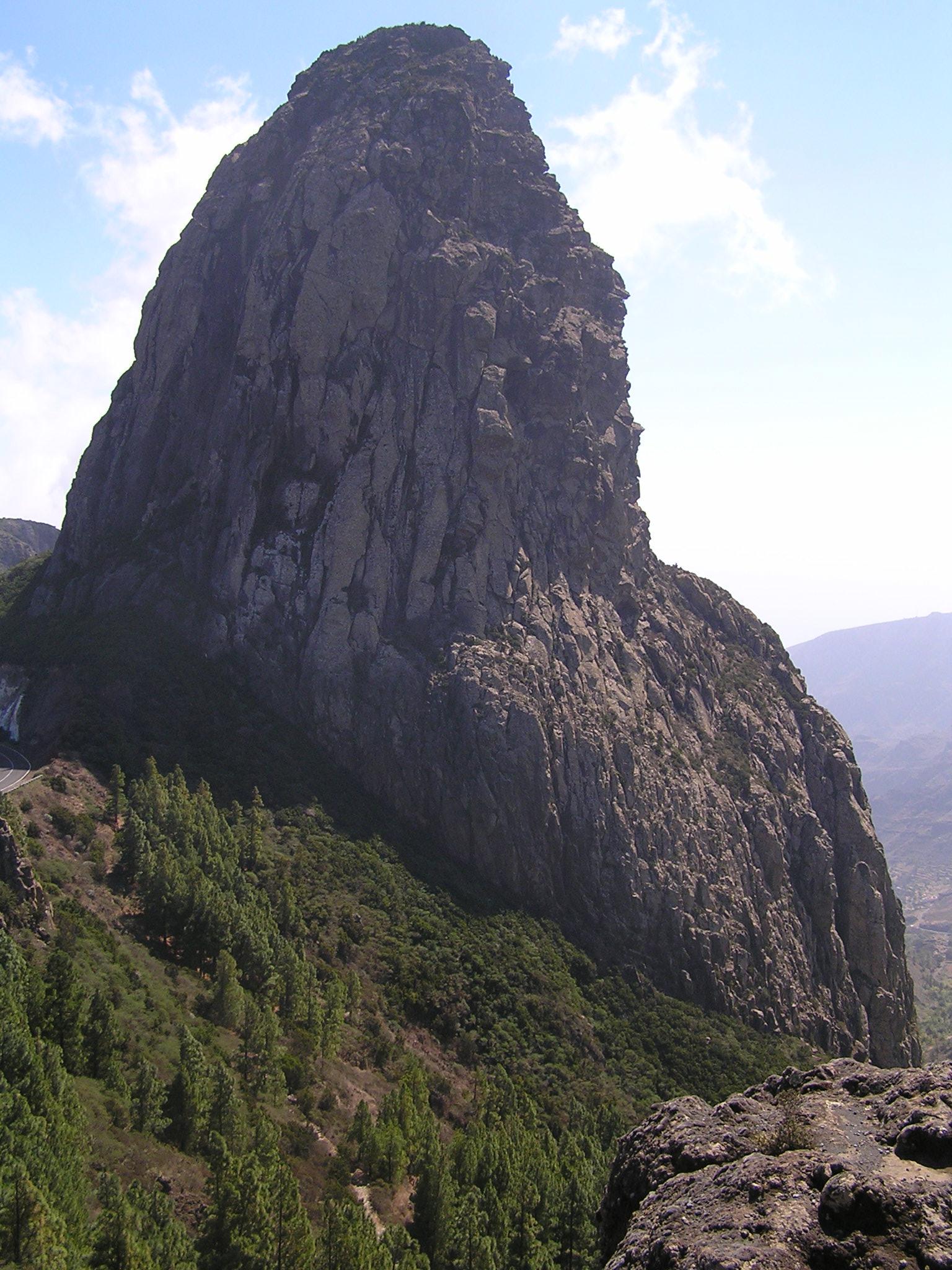 Roque Agando, La Gomera