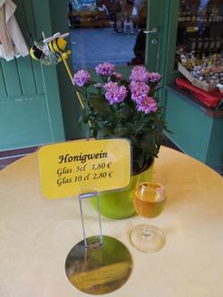Honey wine at Viktualienmarkt