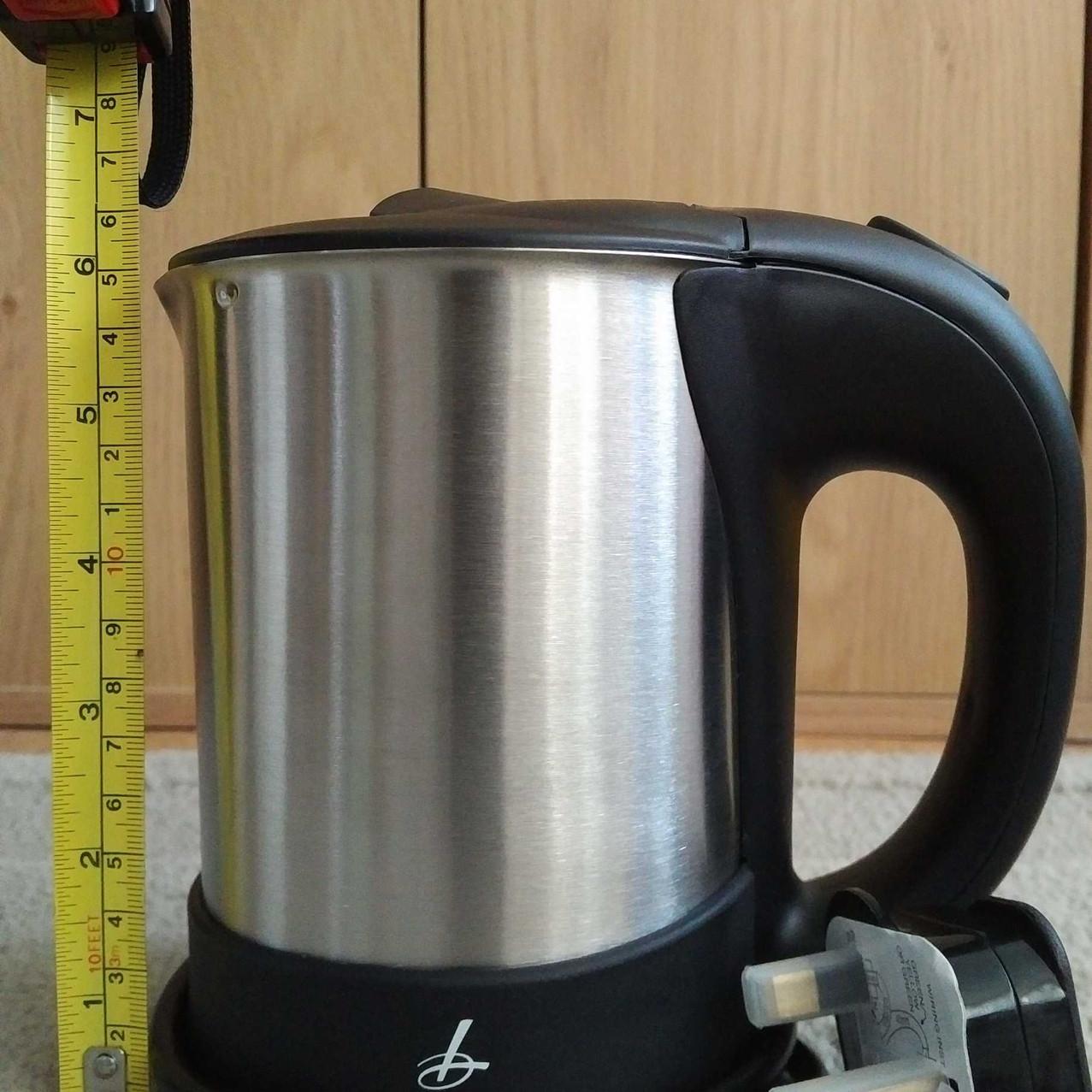 Best travel kettle - Lakeland height
