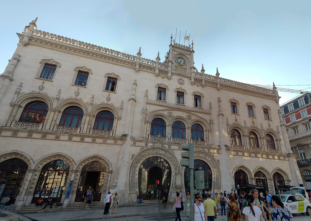 How to get to Sintra - Rossio train station in Lisbon