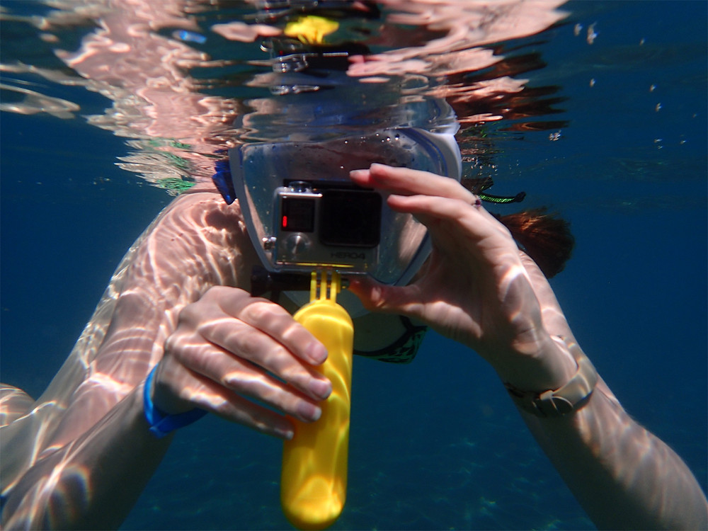 Best GoPro for travel: Snorkelling Ilheu de Vila Franca Azores with a GoPro Hero4 Silver