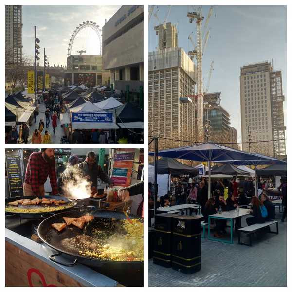 Southbank Centre Food Market - A Foodie Guide to London