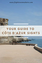 Guide to Cote d'Azur sights
