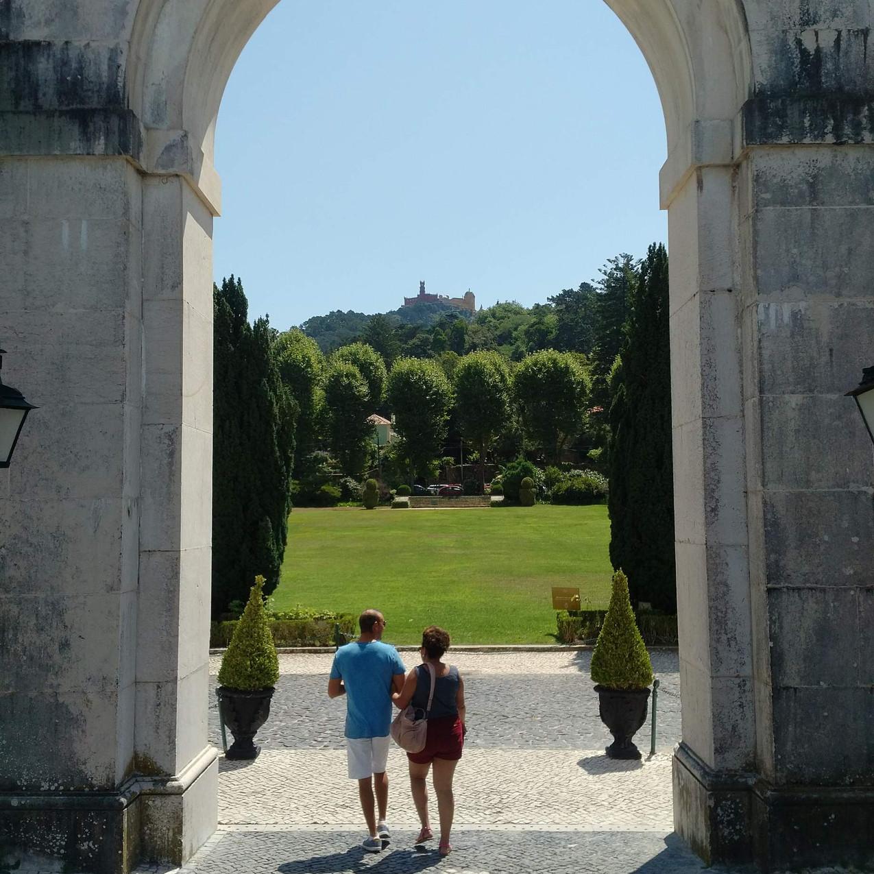 Pena Palace from Palacio de Seteais