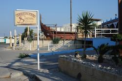 Abandoned club in Faliraki