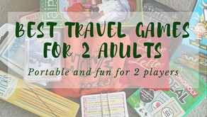 Best Travel Games for 2 Adults