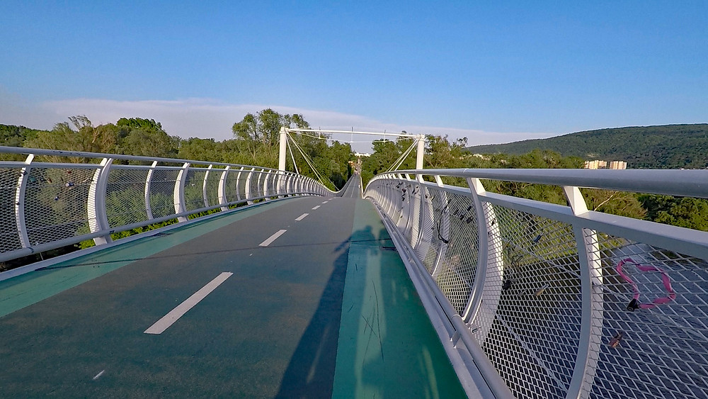 Freedom Bridge Bratislava