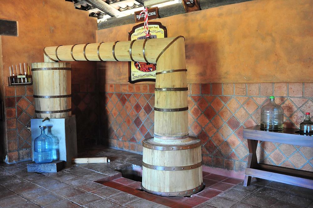 Tequila manufacturer visit on the San Sebastian del Oeste tour