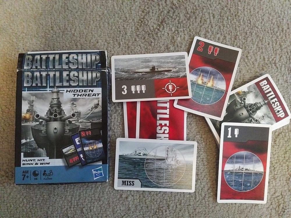 2 player travel games - Battleship Hidden Threat