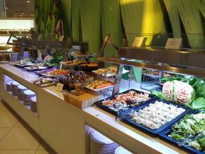 Iberostar Bouganville Playa buffet restaurant - salad section