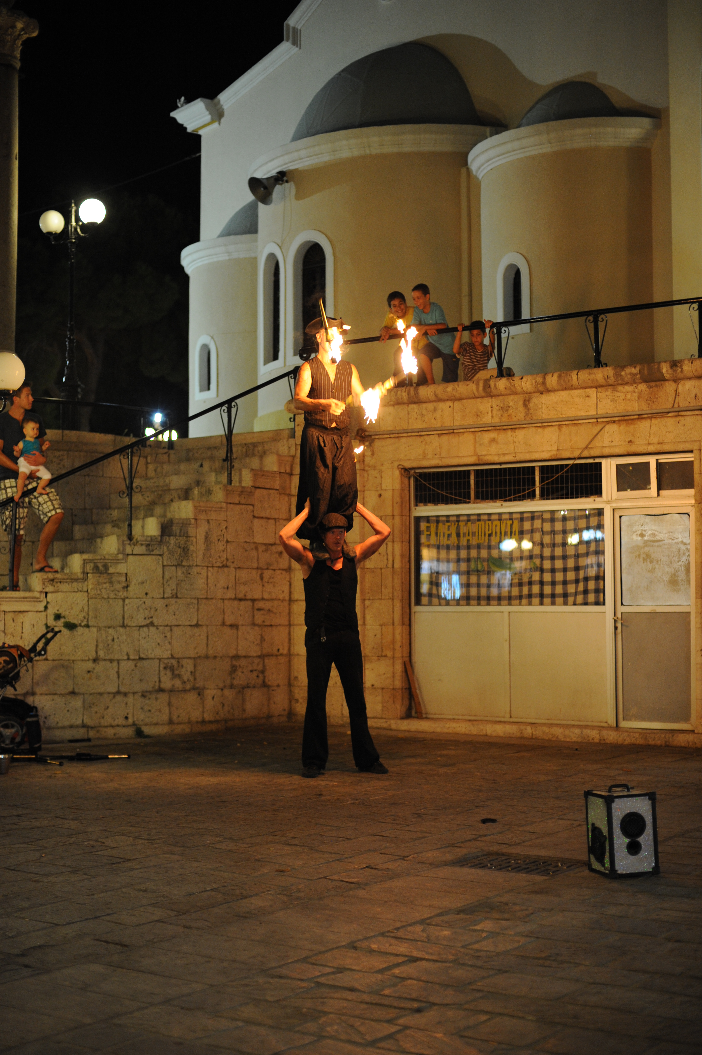 Evening entertainment in Kos Town