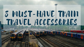 8 Must-Have Train Travel Accessories