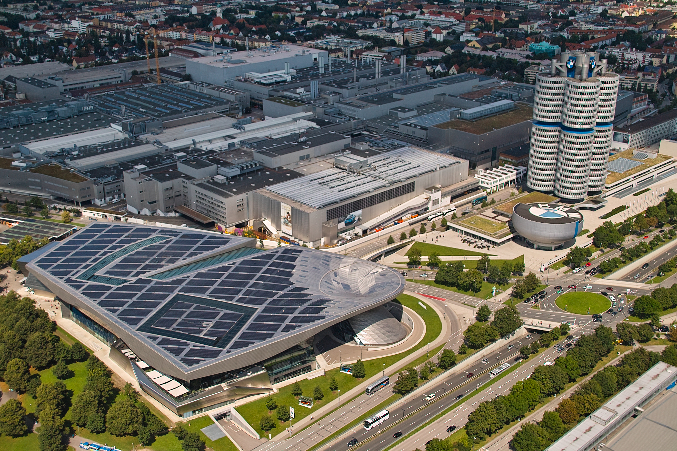 BMW World, museum and factory