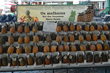 Azorean pineapples