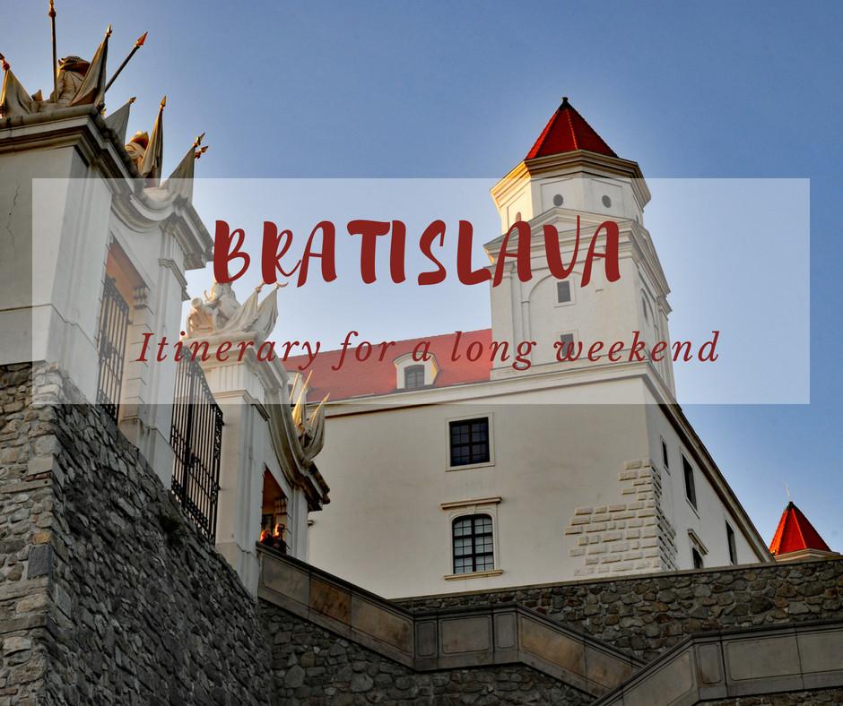 Bratislava sightseeing weekend itinerary