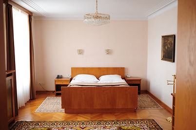 Vila Bled hotel Slovenia lake view suite