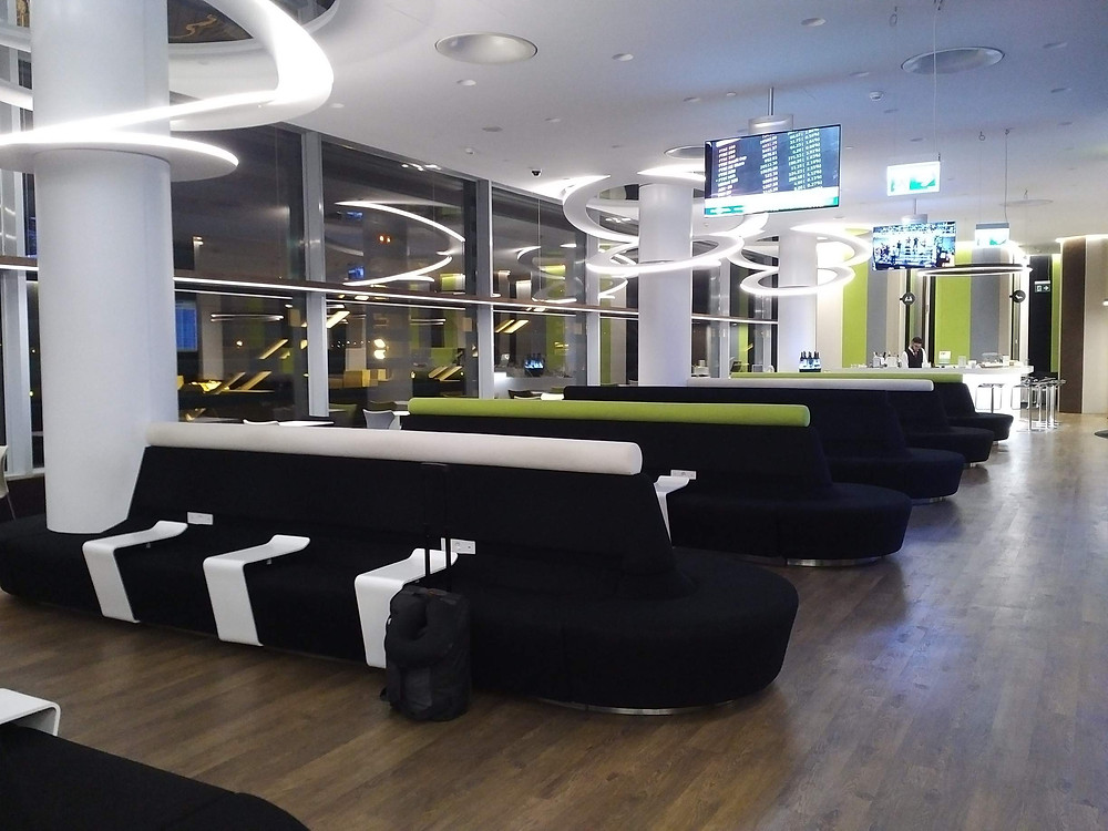 TAP Premium lounge at 5am