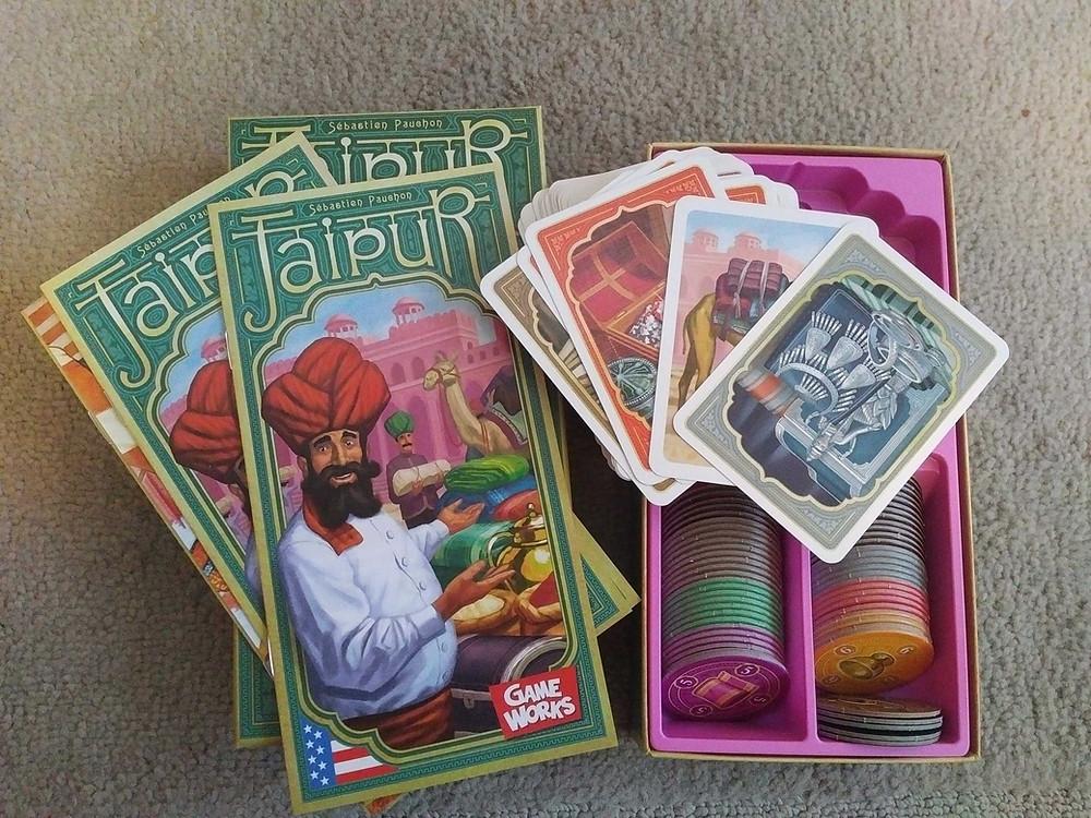 Games to take on holiday - Jaipur