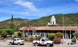 Central square in San Sebastian del Oeste