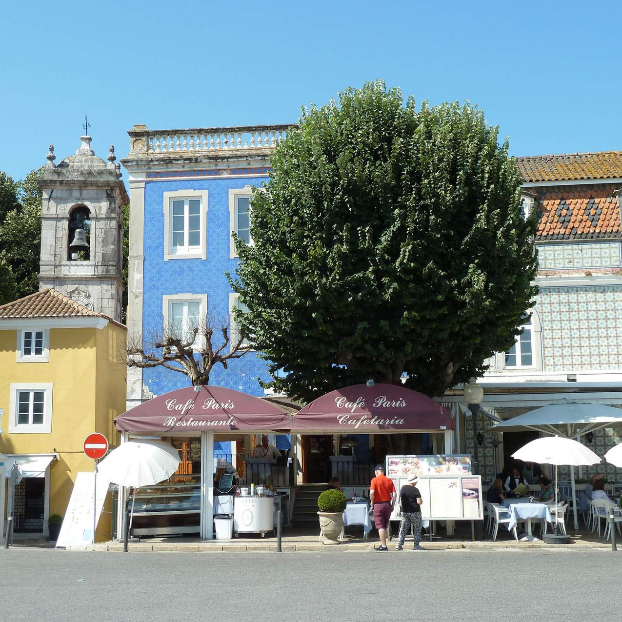 Sintra historical town centre