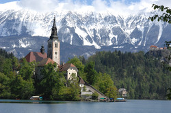Bled Island and the Church of the Assumption