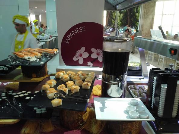 Iberostar Bouganville Playa buffet restaurant - Japanese day