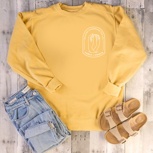 Three to Thrive Sweatshirt