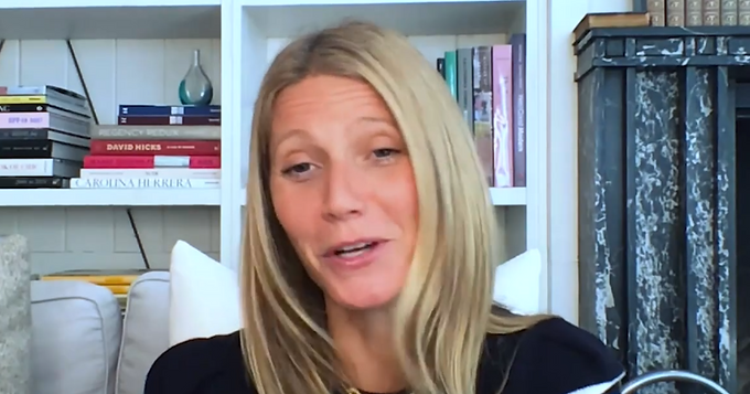 """The intersection of content and commerce creates tribes"" Gwyneth Paltrow on her Lessons 2020"