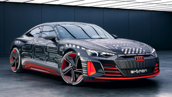 CES2021:  Audi showcases the Audi RS e-tron GT, its first electric sports car