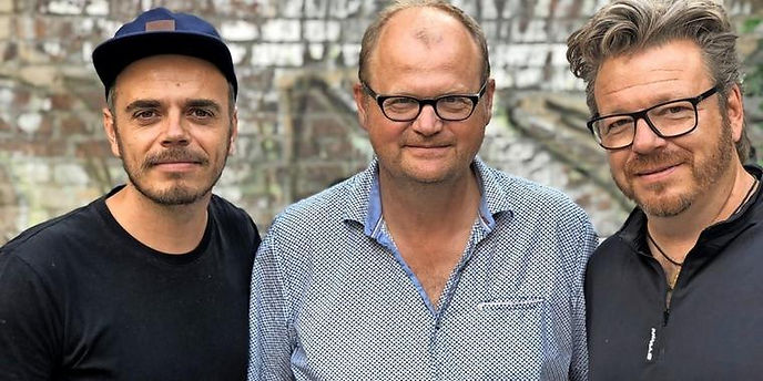 Hanno Hackfort, Richard Kropf and Bob Konrad (HaRiBo)