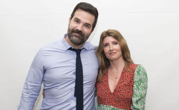 Sharon Horgan & Rob Delaney