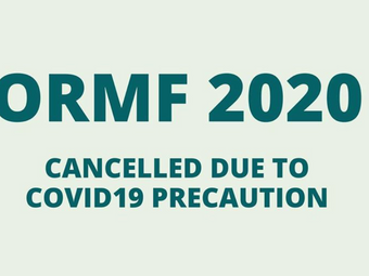 COVID-19 Update: ORMF Canceled