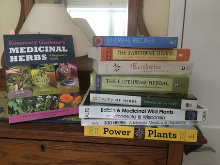 A Few Of My Favorite Herbal Books