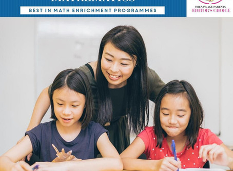 S.A.M has been selected as Best In Math & English Enrichment Programs by The New Age Parents Editor'