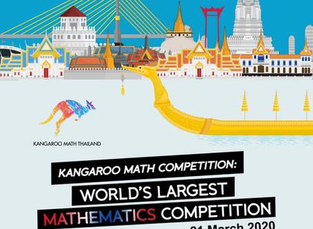 Kangaroo Math Competiton Thailand Register OPEN NOW!