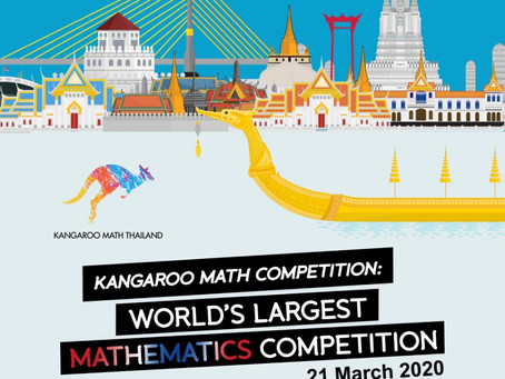 Kangaroo Math Competiton Thailand Register OPEN NOW!