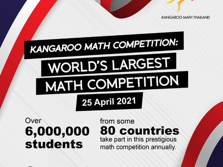 Kangaroo Math Competition ThailandRegister OPEN NOW!