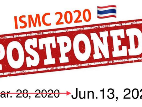 POSTPONEMENT NOTICE International Singapore Maths Competition (ISMC) 2020