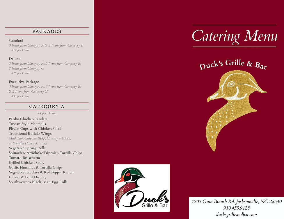 Catering In Jacksonville NC