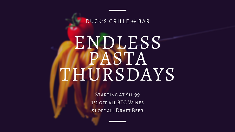Endless Pasta Thursdays