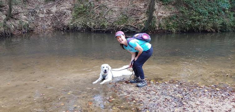 Rosie in the creek.jpg