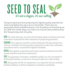 seed to seal process