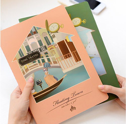 Exercise-book-School-diary-notebook-pape