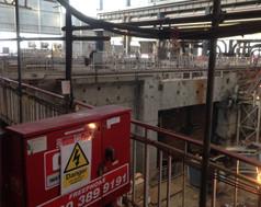 Coventry, Warwickshire- Major Retailer- Asbestos Enclosure Electrical Works
