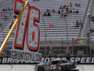 Boyd Battles Through Carnage at Bristol for Third Top 25