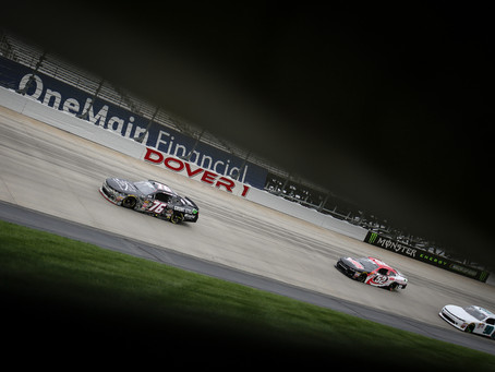 Boyd Overcomes Mechanical Troubles at Dover to Finish Strong