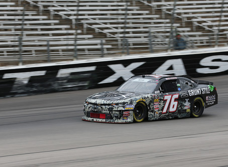 Boyd Escapes Wild Texas Race with Strong Top 25 Finish